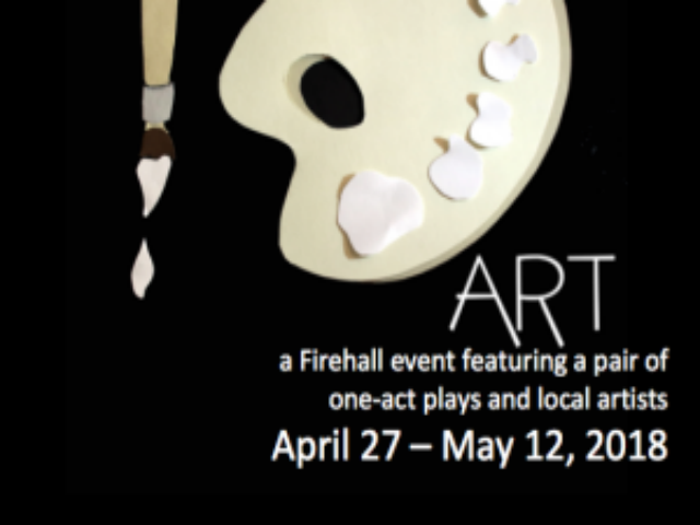 Firehall Theatre - 'Art' with 'Works of Art'