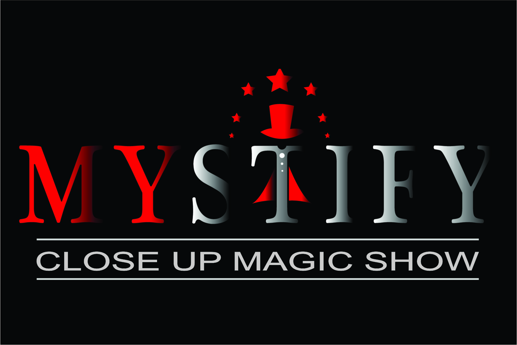 Mystify Close Up Magic Show