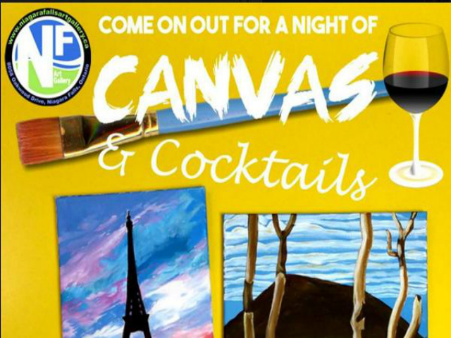 Canvas & Cocktails @ The Art Gallery