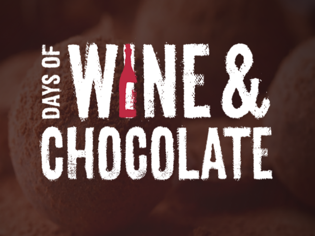 The Days of Wine & Chocolate - Various Locations