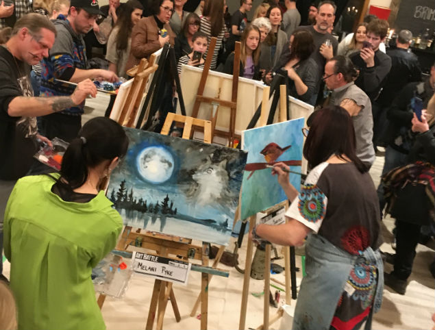 Art Battle Fort Erie: Showdown At The Sanctuary