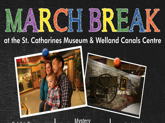 March Break @ St. Catharines Museum and Canal Centre