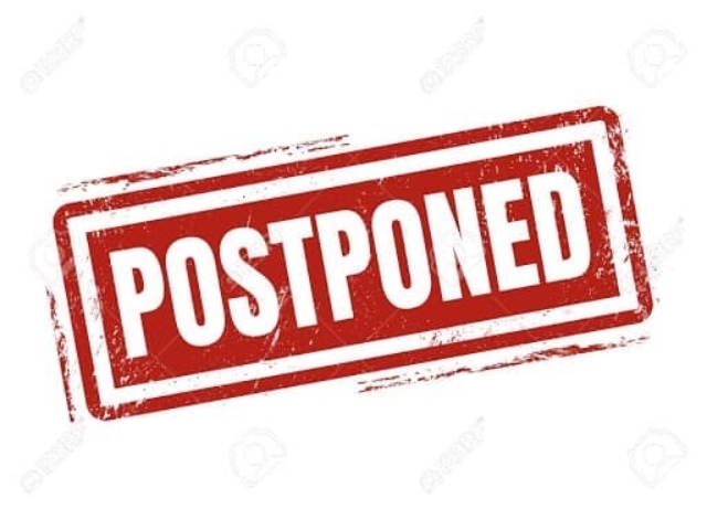 Postponed, Cancelled, Rescheduled