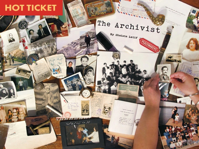 The Archivist by Shaista Latif