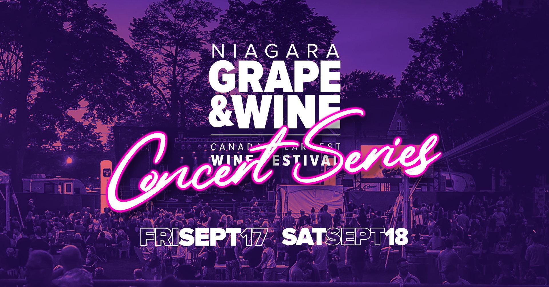 Niagara Wine Festival Montebello Concert Series w/ The Caverners
