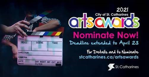 St. Catharines Arts Award Entry Deadline Extended