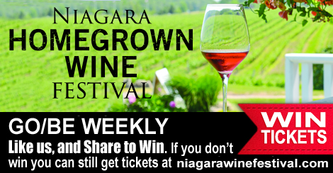 WIN WITH GO/BE - NIAGARA HOMEGROWN WINE FESTIVAL DISCOVERY PASSES