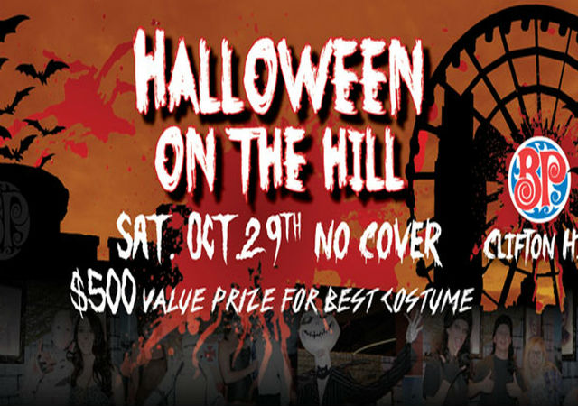 Halloween on the Hill - Boston Pizza, Clifton Hill