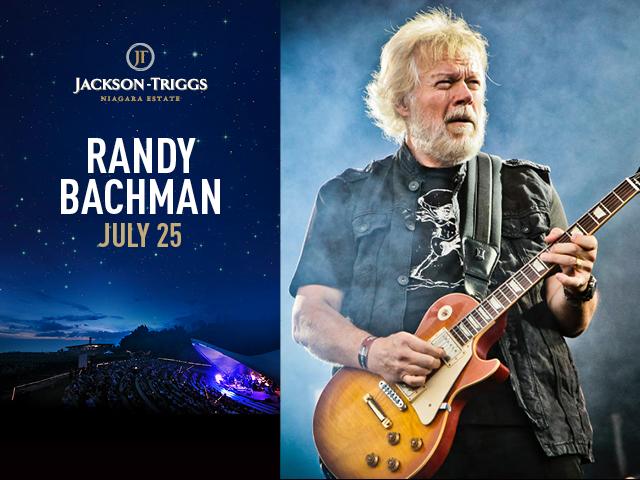 JACKSON TRIGGS - Randy Bachman