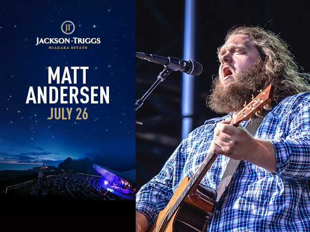JACKSON TRIGGS - Matt Anderson