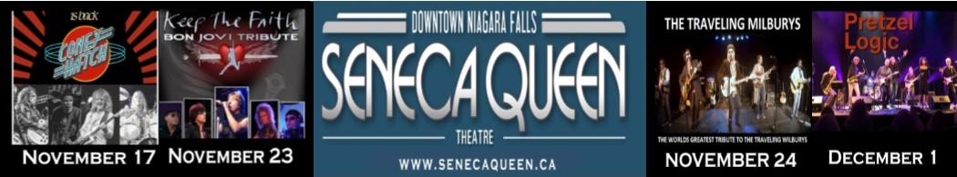Seneca Queen Banner