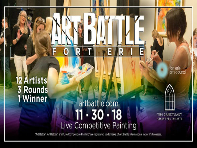 Art Battle Fort Erie