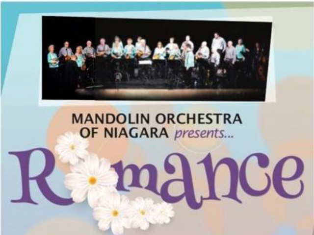 Mandolin Orchestra of Niagara presents Romance