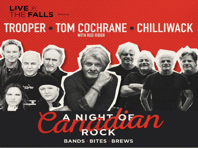 Trooper, Tom Cochrane & Chilliwack