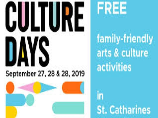 Culture Days St. Catharines