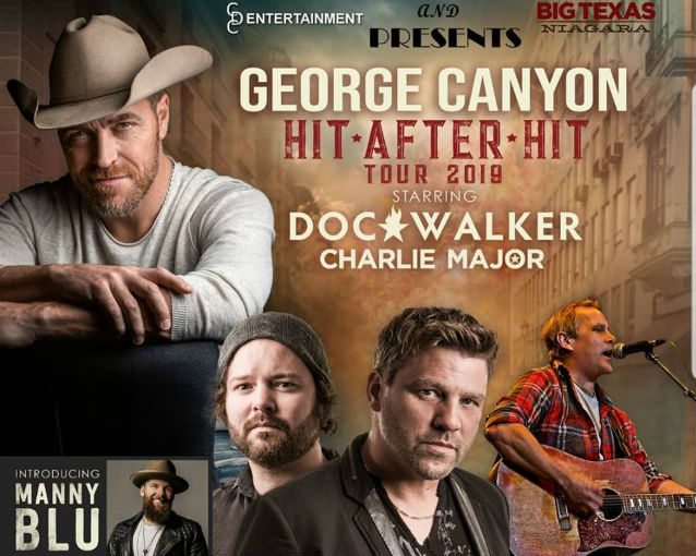 George Canyon Hit After Hit Tour