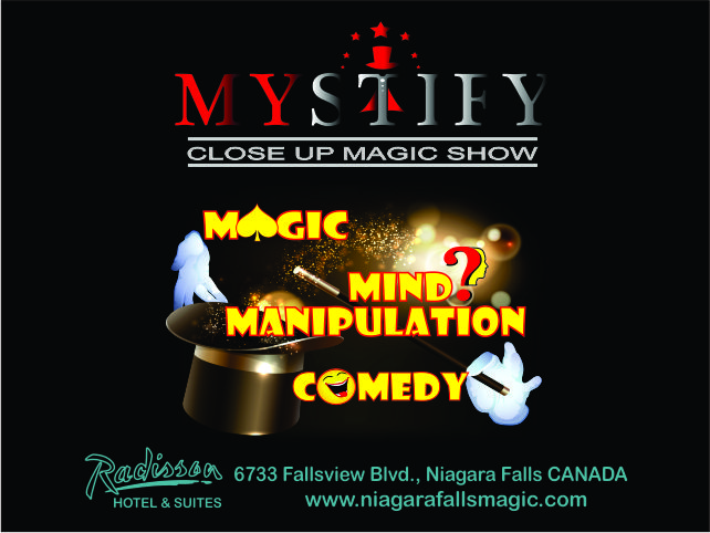 Mystify - Close Up Magic Show