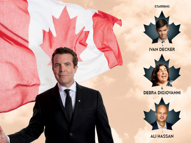 Just For Laffs W/ Rick Mercer