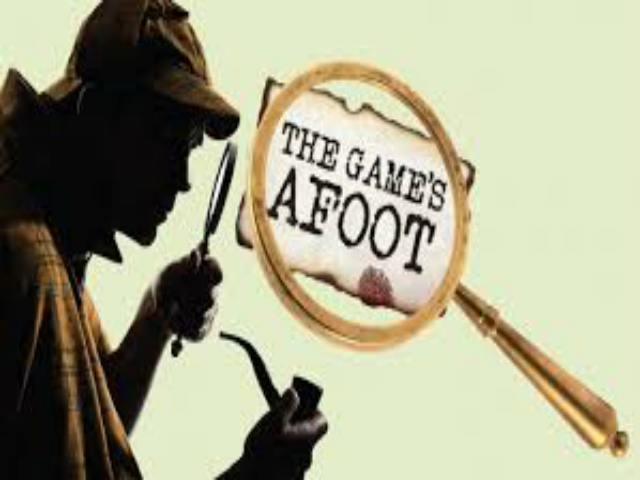Garrison Little Theatre - The Game's A foot