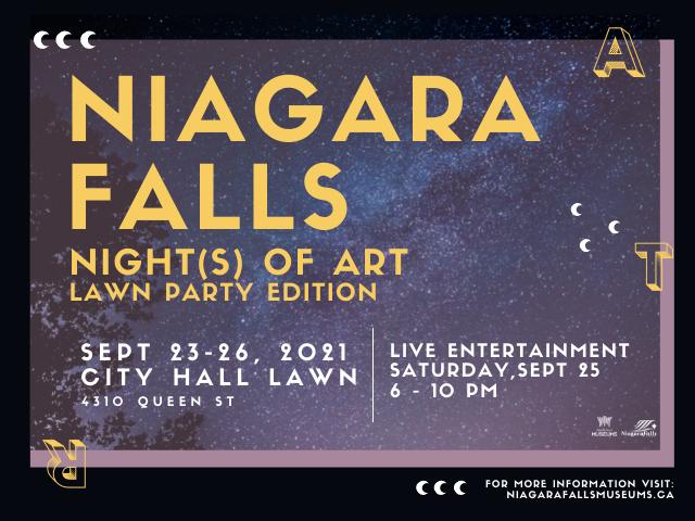 Niagara Falls Night of Art