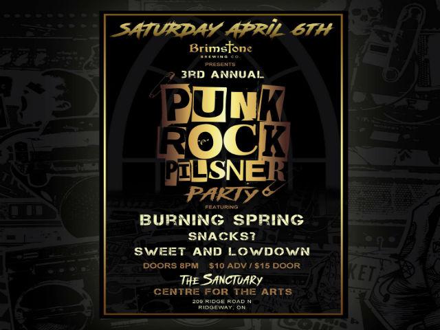 The Sanctuary - Punk Rock Pilsner
